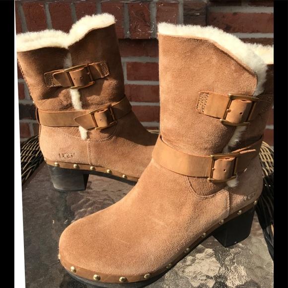 bcdac848d32 Ladies Ugg Brea size 7 Platform Boots
